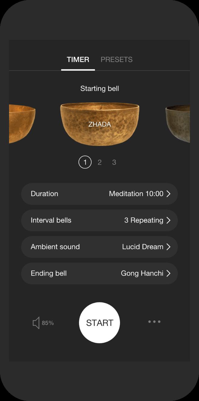 Znalezione obrazy dla zapytania insight timer app